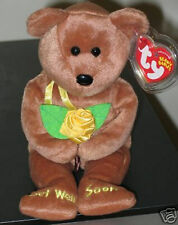 Ty Beanie Baby ~ BANDAGE the Bear ~ MINT with MINT TAGS ~ RETIRED