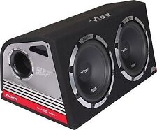 "Vibe SLICK Twin 12 ""active subwoofers subs et box 2400W construit dans ampli"