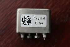 STC Crystal Filter 10.7mHz 25 Mc/s 445/LQU/904G, 2 spade + 2 screw/nut terminals