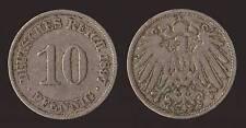 GERMANIA GERMANY 10 PFENNIG 1897 A