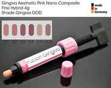 Gingiva VITA GOD Gum Shade Aesthetic Pink Nano Light Cure Dental Composite 4g