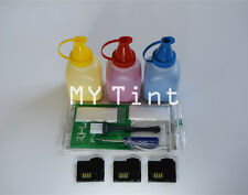 3 x Toner Refill + Chips For Xero Phaser 6010 6000 6015 106R01627 ~ 106R01629