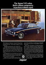 JAGUAR XJ12 XJ-12 V12 RETRO A3 POSTER PRINT FROM CLASSIC 70's ADVERT