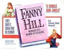 Fanny Hill 1964 Cartel 02 A4 10x8 impresión fotográfica