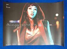 GONG MINZY (2ne1)  - Minzy Work 01 Uno Official Poster New K-POP