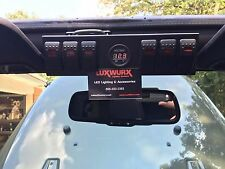 Jeep Wrangler JK 07-14 Switch Panel with 6 Contura Style Switches