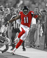 Atlanta Falcons JULIO JONES Glossy 8x10 Photo Spotlight Print Poster
