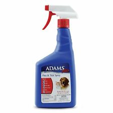 Adams Plus Flea and Tick Spray for Cats and Dogs, 32 Oz, New, Free Shipping