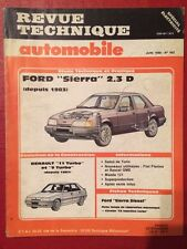 Revue Technique Automobile FORD Sierra 2.3D depuis 1983
