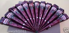36 X Natural Herbal Kaveri Henna Mehendi Cones Body Art Temporary Tattoo kit Ink