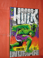 MARVEL MASTERWORKS - INCREDIBILE HULK- N° 4 -DI:STAN LEE- CARTONATO-PANINI