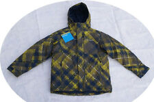 Boys Columbia Edge Rider Ski Jacket Winter Coat Parka Green 14 16