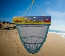 Nalu Crab Drop Net, fishing beach rock pools sea Spring Loaded Bait trap ty7655