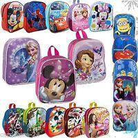 Disney Kinder Rucksack Tasche Kindergartenrucksack Frozen Cars Minions 25 cm