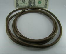 "HUGE 6' 10"" Long Brown Viton? Rubber O-Rings, .275"" Thick X 26"" Diameter 3501002"