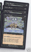 4x Dark Ritual  Mercadian Masques  MTG