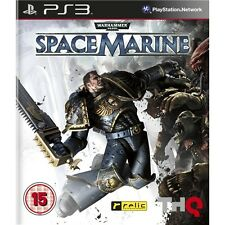 Warhammer: Space Marine   playstation 3  PS3   NUOVO!