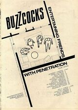 6/5/78PN34 ADVERT: BUZZCOCKS ANOTHER MUSIC IN A DIFFERENT KITCHEN 15X11