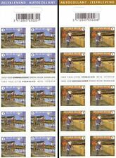 Belgium**BIKING/CYCLING-HIKING-WINDMILL-2 Booklets@10stamps-2008-Moulin-Molen