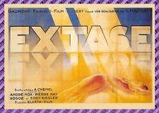 Cartolina Manifesto del Film - EXTASE