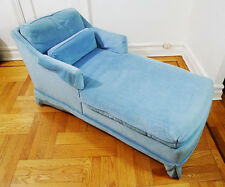 Carolina Chair Inc. Light Baby Blue Daybed Chaise Lounge (Local Pickup Only)