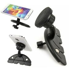 Universal Car CD Slot Stand Magnetic Pad Suction Mount Holder for Cell Phone GPS