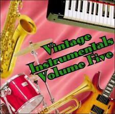 VINTAGE INSTRUMENTALS 5 / V...-VINTAGE INSTRUMENTALS 5 / VARIOUS CD NEW