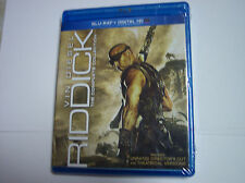 Riddick: The Complete Collection No Slipcover Blu-ray 2014, 3-Disc Set, Unrated