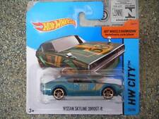 Hot Wheels 2014 #023/250 NISSAN SKYLINE 2000 GT-R blue HW CITY