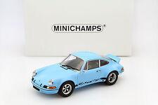 Porsche 911 Carrera RSR 2.8 Baujahr 1973 gulf blau / schwarz 1:18 Minichamps