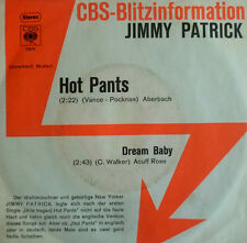 "7"" 1971 CBS BLITZ ! JIMMY PATRICK : Hot Pants /MINT-?"