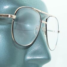 Reading Glasses Large Man Modern Aviator Straight Bifocal 2-tone Frame +2.75
