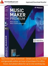 Magix Music Maker Premium - New for 2017 - for PC - (Approved Digital Download)