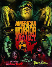 American Horror Project Arrow Video Limited Edition Blu-Ray Set Brand New Sealed