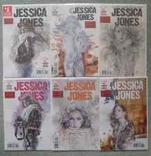 JESSICA JONES #1-6 SET..BENDIS/GAYDOS..MARVEL 2016 1ST PRINT..NM..ALIAS