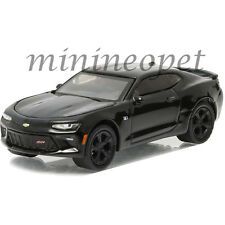 GREENLIGHT 27860 C BLACK BANDIT 2016 16 CHEVY CAMARO SS 1/64 DIECAST CAR BLACK
