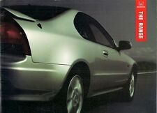 Honda 1994-95 UK Market Sales Brochure Civic CRX Accord Prelude Legend NSX