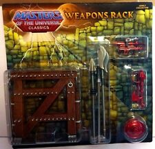 MOTUC Weapons Rack Pack Mattel He-Man Motu Classics Sealed Skeletor Buzz Off