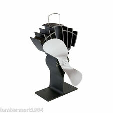 Caframo 810CAKBX ECOFAN ULTRAIR HEAT POWER WOOD STOVE FAN NICKEL BLADE 810CA-KBX