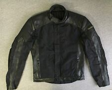 HEIN GERICKE Motorcylce Jacket Textile Leather Racer Cafe Padded Sport Men Med