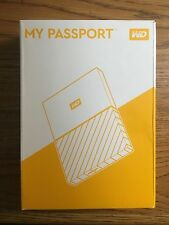 WD 3TB Black My Passport  Portable External Hard Drive HDD - USB NEW STYLE 2016