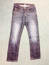 Tom Tailor Jeans Extra Skinny Dunkelblau Used Denim 176 XL Bund Verstellbar 1A