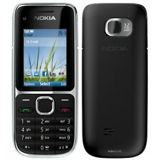 Brand New Nokia C2-01 Black 3G Sim free Unlocked Mobile Phone Complete Box
