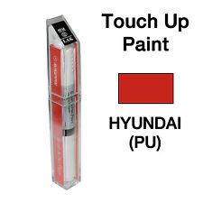 Hyundai OEM Brush&Pen Touch Up Paint Color Code : PU - Cardinal Red