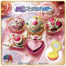 SAILOR MOON HENSHIN COMPACT MIRROR SET 5 PZ BANDAI