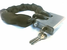 "4' Foot Bicycle Lock Chain - 3/8"" Hardened Grade 100 - Defender Security Lock"