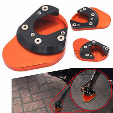 Motorcycle CNC Aluminum Side Stand Foot Plate Enlarge For KTM DUKE 125 200 390