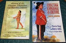 2 History of the Choctaw, Chickasaw & Natchez Indians + Language & Culture Books