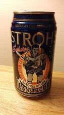 Pittsburgh Penguins Mario Lemeiux Stroh's Beer Can