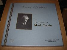 MARK TWAIN the humor of / tape 1 ~ 6 - SEALED NEW -